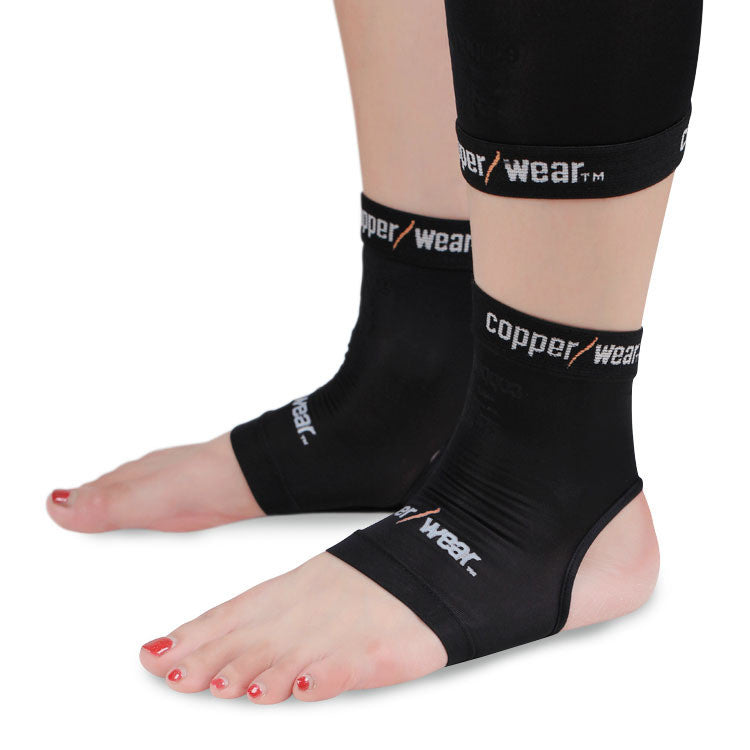 Highest Quality Copper Wear 1pc Ankle Support  Breathable Compression Outdoor Sports Gym Protector