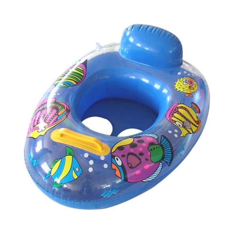 Inflatable Float Swimming Seat Ring Kids Baby Safety Floating Swim ...