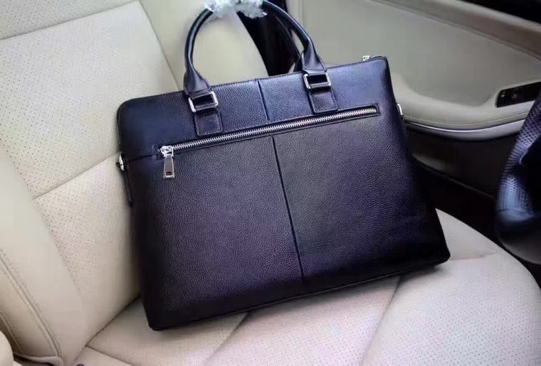 Men Briefcases Classic Leather Purse Designer Handbag Shoulder Bag Good Messanger Retail Wholesale Free Shipping Good