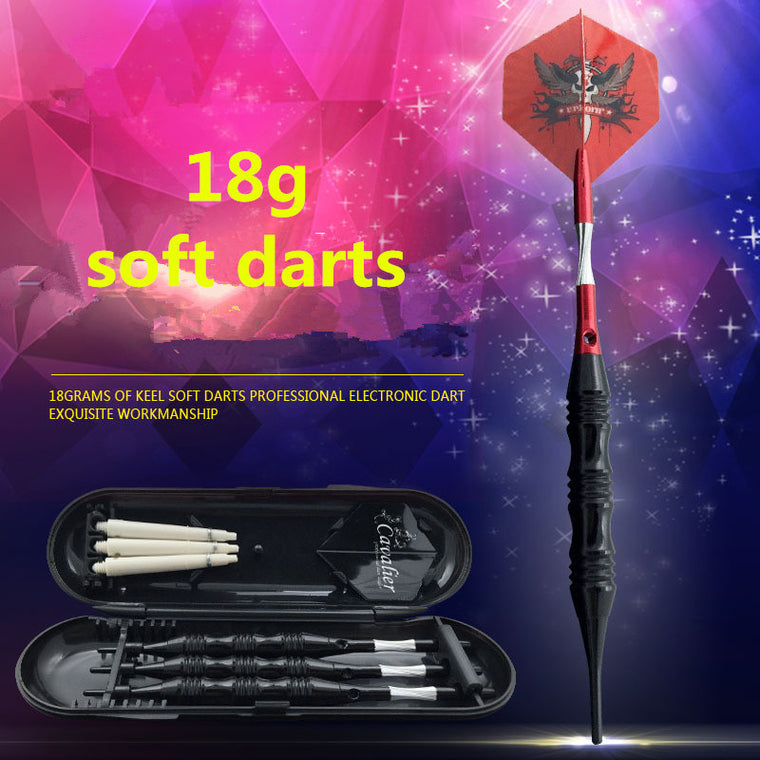 Top Quality 3pcs/1Set Professional 20g Competition Level Keel Red Electronic Soft Dart Needle Kit Game Training Security Suite