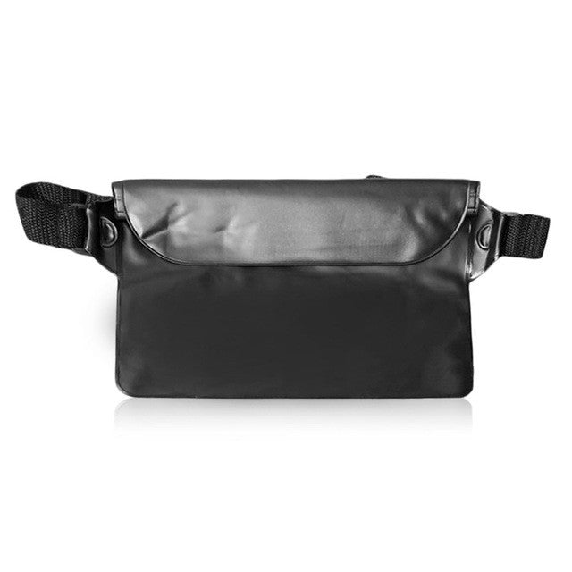 Universal Seal Type Waterproof Waist Bag Men Women Outdoor Swimming bag Beach Use Mobile Phone PVC Pouch Belt Bag free shipping