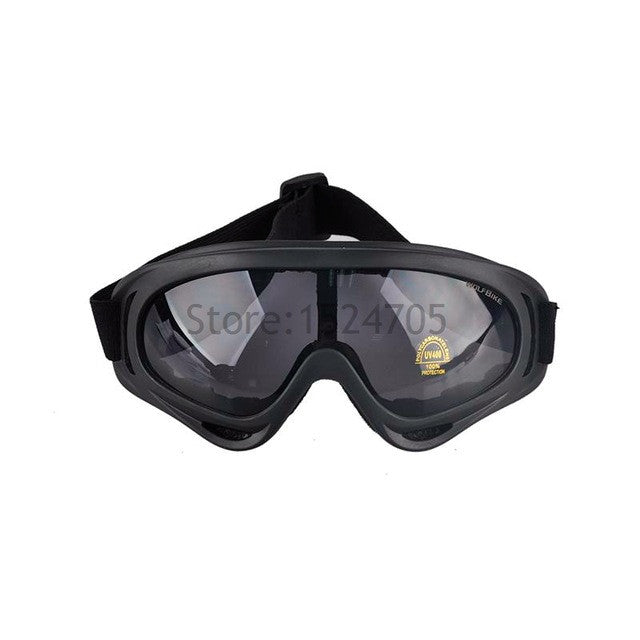 X400 Skiing Tactical Hunting Goggles Outdoor Sports Cycling Airsoft Eyewear UV400 Glasses