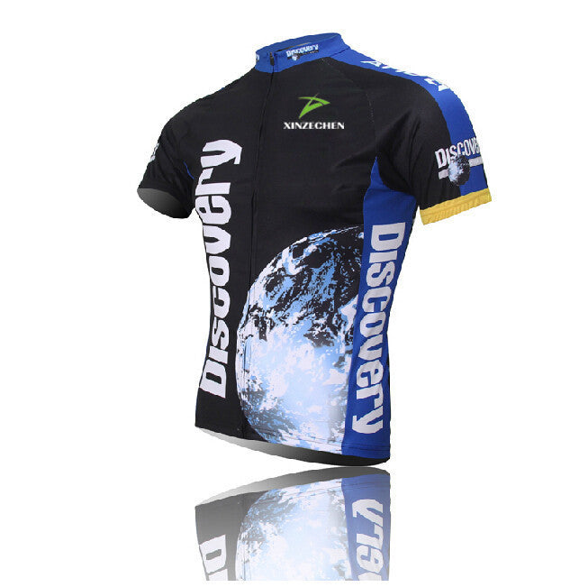 Discovery Cycling Jerseys Cycling clothing bicycle jersey Team bike bicycle Cycling jersey short sleeve Cycling wear Quick Dry