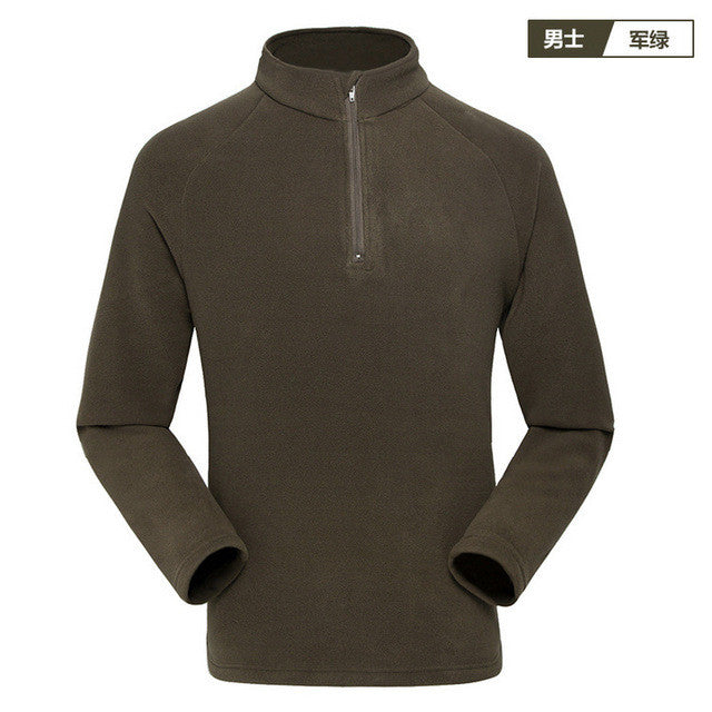Free Shipping High-quality Outdoor Fleece Soft Shell jackets  new spring men sports Windproof  warm fleece jacket liner