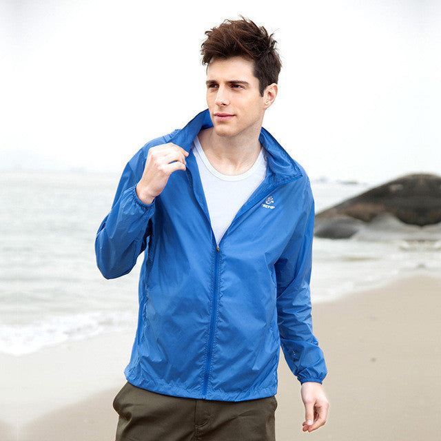 New Spring Summer Lightweight Breathable Skin Jackets Men UV Protection Windproof Quick Dry Outdoor Sport  Hiking Fishing Coats