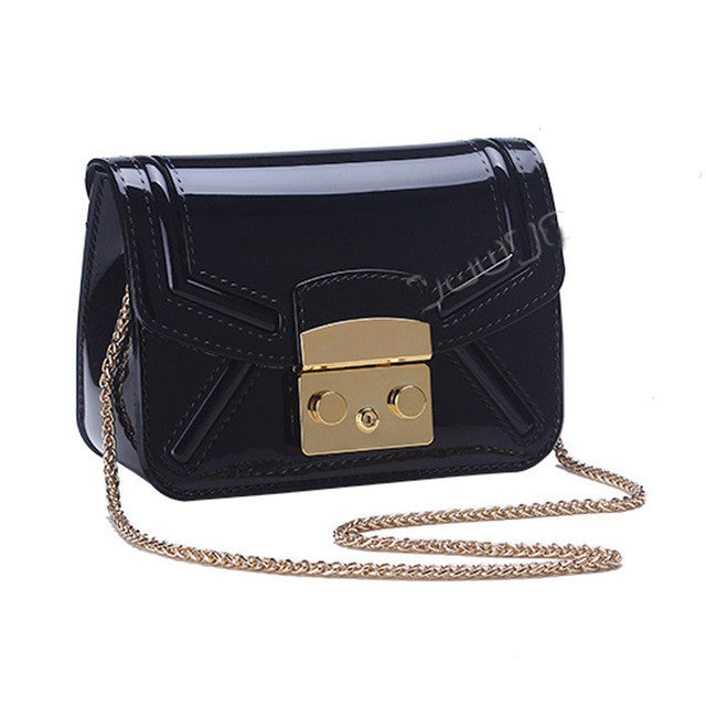 Bolsa Feminina Women Bag Sweet Silicone Chain Crossbody Bags For Teenager Girl Fashion Summer Jelly Messenger Bags Luxury Ladies