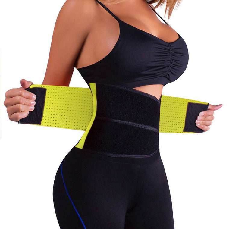 Lower back support lumbar support body buiding workout fitness waist trimmer belt