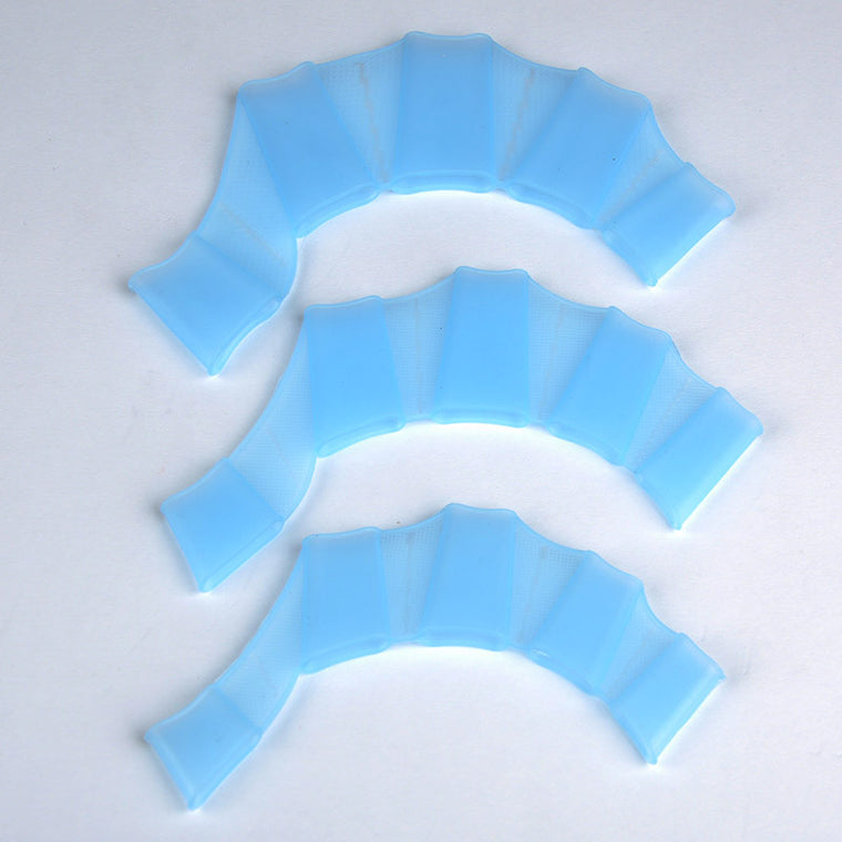 Silicone Material Swimming Fins For Hands Sailor Webbed Palm Flying Fish Webbed Gloves Flippers