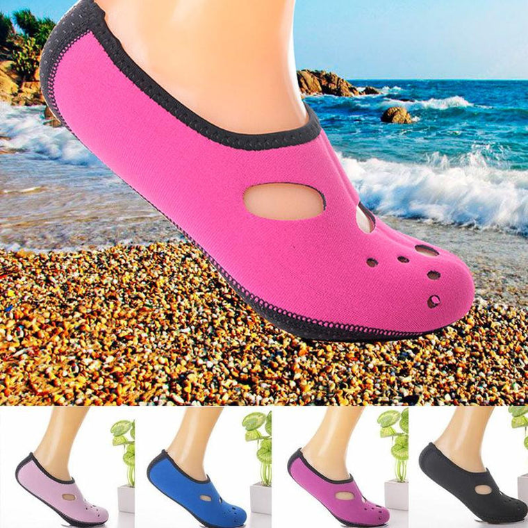 Water Skin Shoes Swimming Diving Aqua Slip On Socks Yoga Exercise Pool Sports