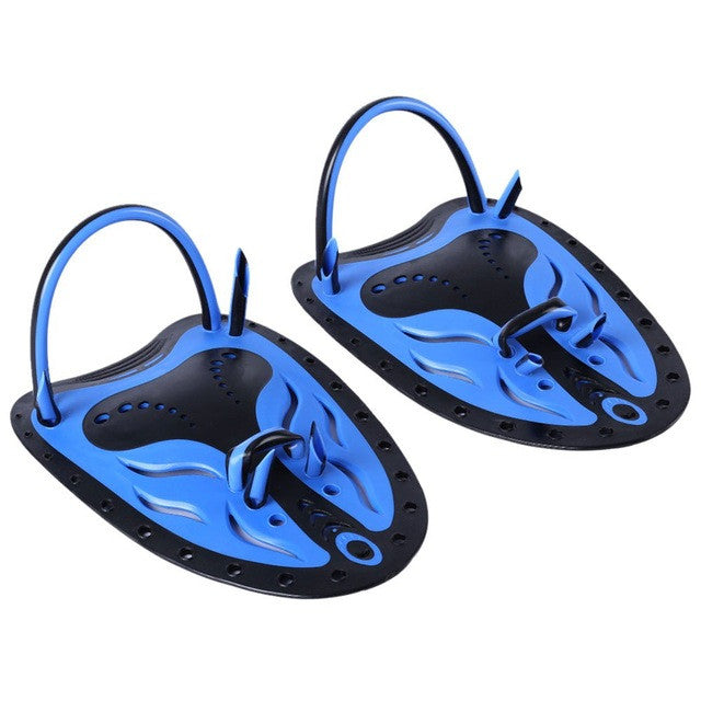 Whale Paired Adjustable Paddles Fins Unisex Swimming Fins Webbed Training Pool Diving SBR material Hand Gloves Swimming Fins
