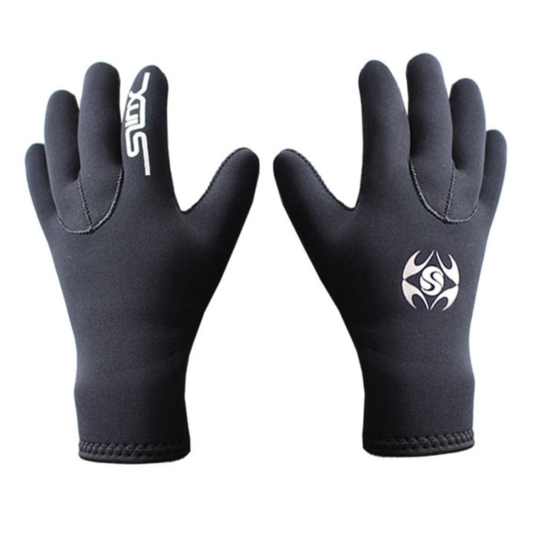 SLINX 3mm Neoprene Men Women Warm Scuba Diving Gloves Swimming Surfing Spearfishing Snorkeling Boating Fishermen Equipment