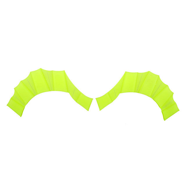 10 Pair Soft Silicone Swimming Fins Flippers Frog Hand Swim Web Webbed Glove Training Paddle Dive Swimming Equipment Multi Size