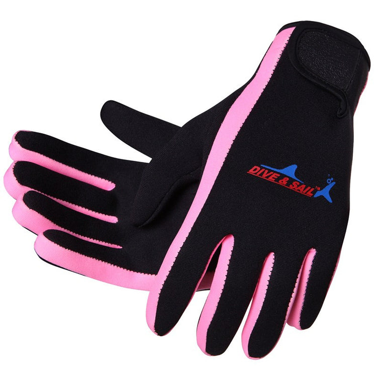 DiveSail 1.5mm neoprene diving gloves for women