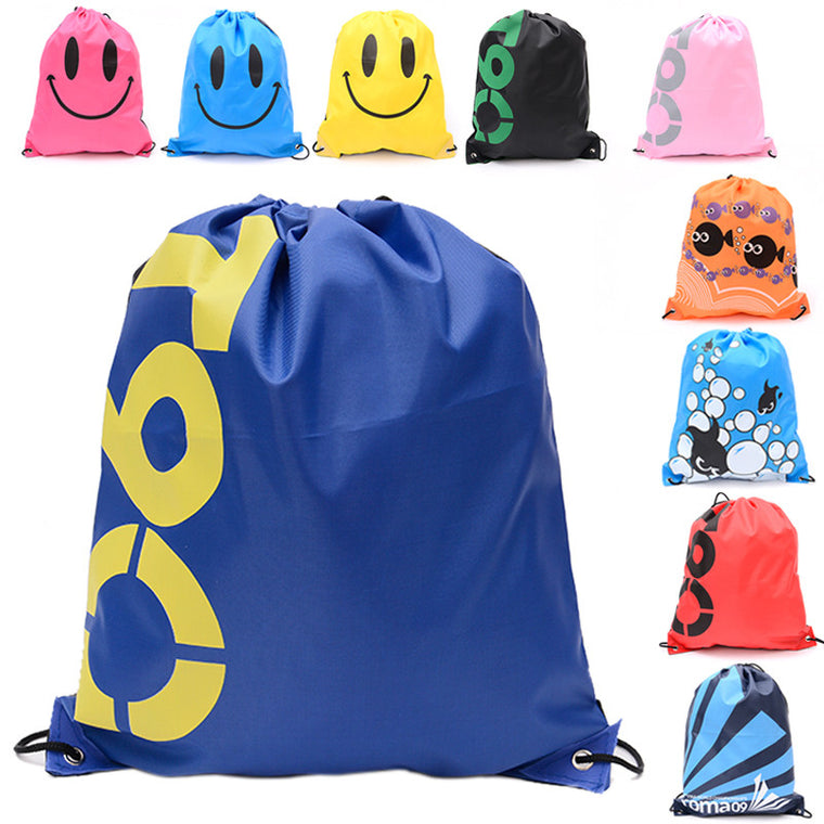 Swimming Waterproof Double Layer Drawstring Bag Backpacks Shoulder Bag Water Sports Travel Portable Bag