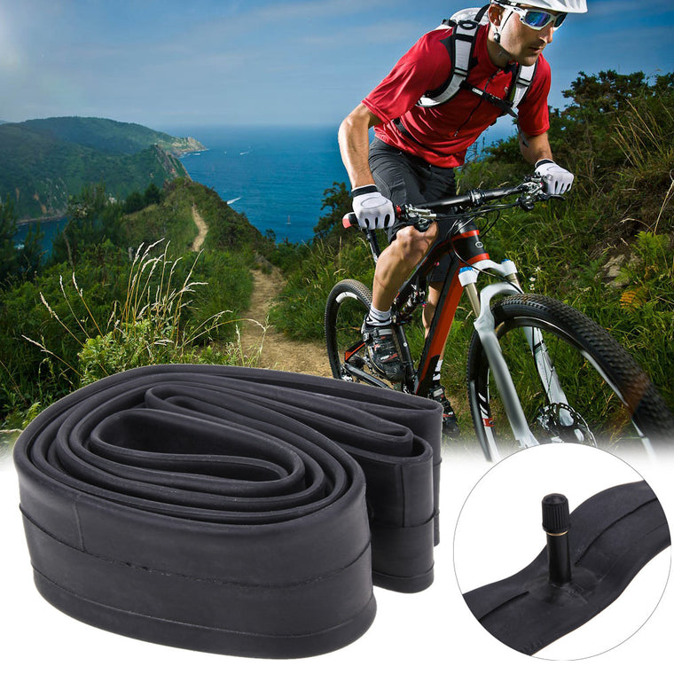 Cycling Standard Air Valve Tube Tire Replaceable Cycle Inner Rubber Tube Tyre 26 inch 1.5/1.75 1.9/2.125 Bicycle Tires Parts