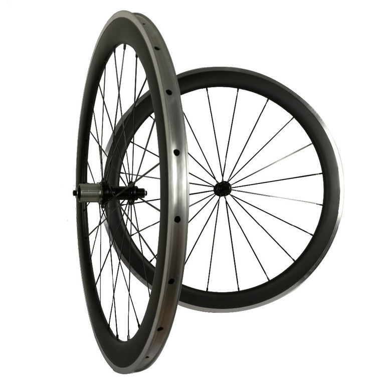 soloteam Custom logo  R36 38mm 50mm 60mm 90mm Aluminum alloy surface carbon clincher wheelset 700C road bike carbon wheels