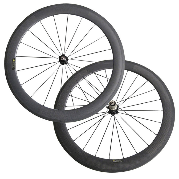 700C 60mm clincher carbon wheelset basalt brake surface free rim tape,3pcs spoke,nipple, skewer,brake pad
