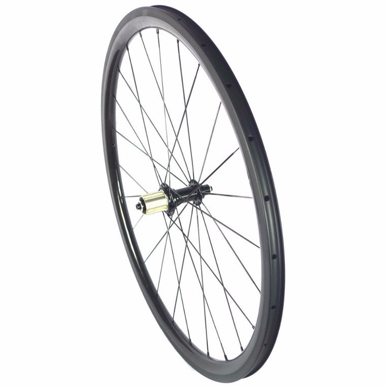 700C Road bike tubular carbon wheels 35mm 45mm 50mm depth carbon tubular wheelset U shape 25mm width carbon road wheels