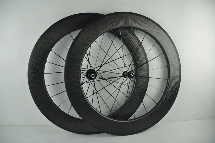 Z808 dimple Surface Carbon Bike Cycling Wheelset 808 80mm Rims 45mm 50mm 58mm 700C Bicycle Clincher Front&Rear Wheel