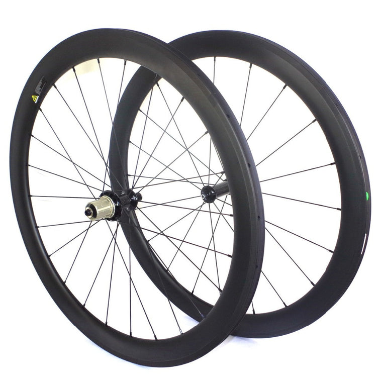 POWERWAY R36 CERAMIC BEARING HUB HIGH TG CARBON WHEELS 50MM TUBULAR 23MM WIDTH ROAD BIKE CARBON WHEELSET
