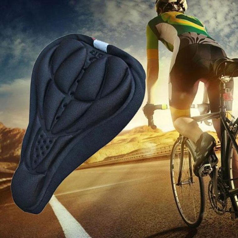 Silicone Road Bike Saddle Seat Cover Cycling Bicycle Gel Cushion Soft Pad Padded Comfort Cushion High Quality Hot Waterproof New
