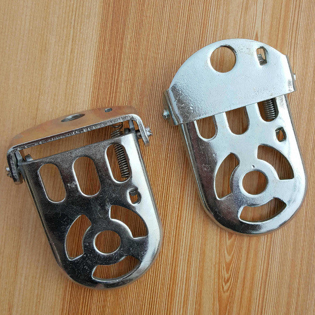 1 Pair MTB Bike Rear Foot Pedal for Kids Bike Back Seat Children Foot Stand Thicken Cycling Bicycle Rear Saddle Bike Accessories