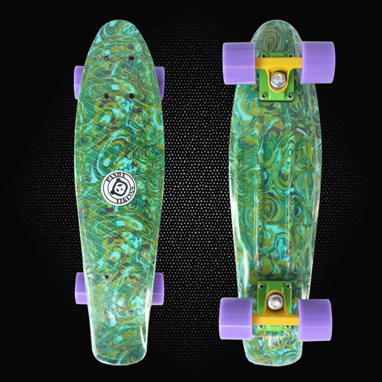 "Peny Board 22"" Camouflage Printed mini cruiser skateboard complete long board children's scooter skate four-wheel skates PN20"