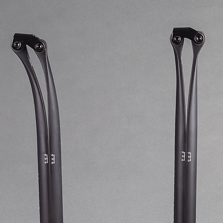 Road Mountain Bike UD Matte Full Carbon Fiber Seat Tube Bike Seat Post Cycling Seatpost 20 & 5 Degree 27.2/30.8/31.6*330mm