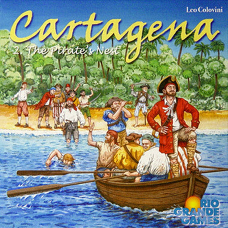 English version cartagena 2 II board game gift for kids Party Friend Indoor table games