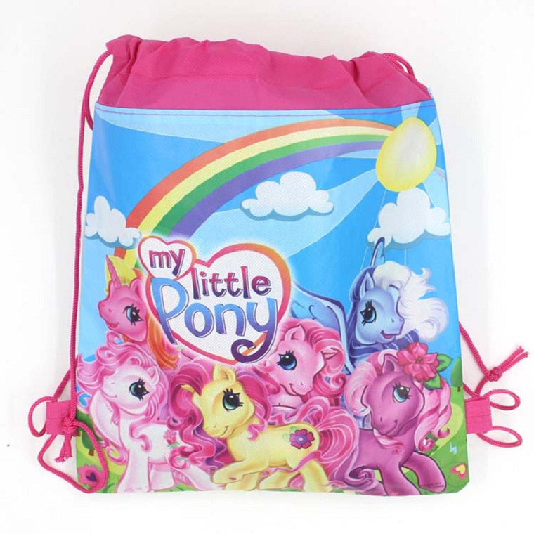 1pcs horse Kids schoolbag backpack kids birthday party Favor, Mochila escolar, school kids backpackA7410