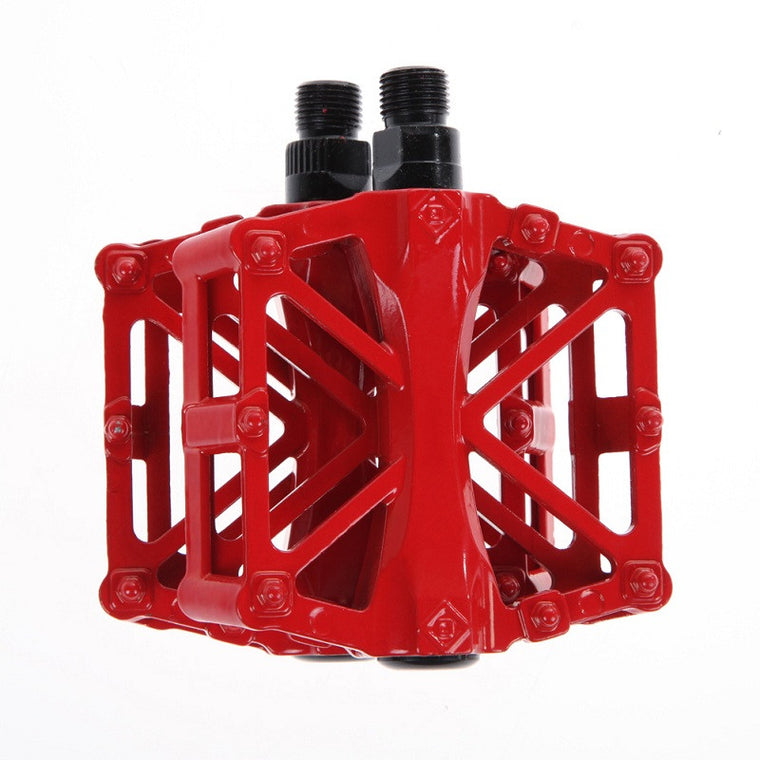 "Professional BMX Mountain Bike Pedal 9/16"" Thread Parts Super Strong Ultra-Light Platform Cycling Pedals Alloy Outdoor Sports"