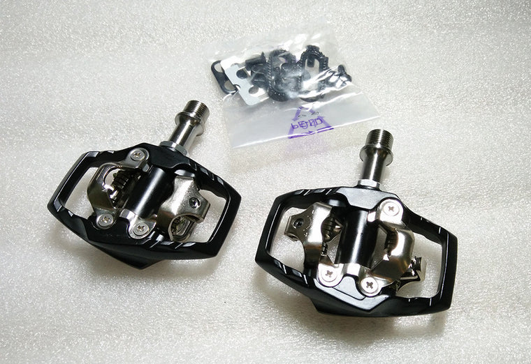 superlight M530 weight Magnesium body crmo axis titanium axis egg beat XT SPD clipless mtb bike pedal
