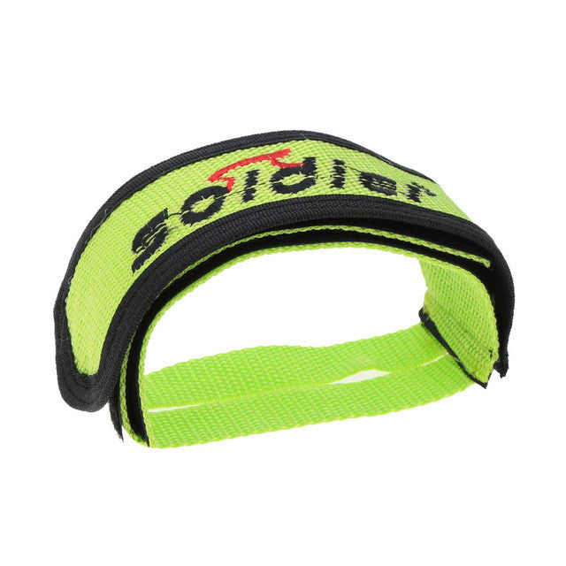 1 Pcs Bicycle Pedal Fixed Gear BMX Bike Bicycle Anti-slip Double Adhesive Straps Pedal Toe Clip Strap Belt Bicycle Pedal strap