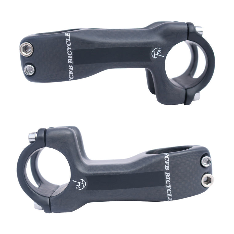FCFB matt gray full carbon mountain bike road bike stem  frok diameter 28.6 mm 31.8mm handlebar 25.4mm 31.8mm FW-ST-C-1GA