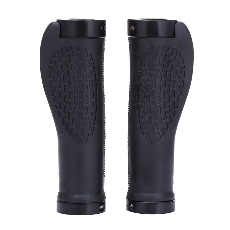 Durable Anti-slip Rubber Aluminum Alloy Integrated Bike Bicycle Handlebar Mountain Bikes Cycling Grips Handlebar Parts