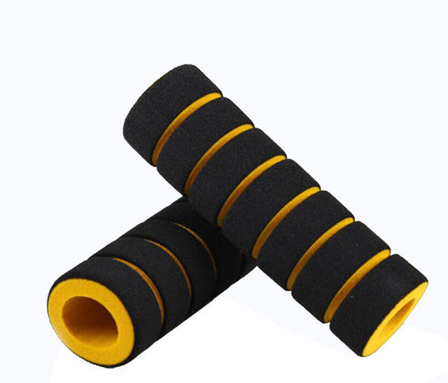 4pcs Bike Racing Bicycle Motorcycle Handle Bar Foam Sponge Grip Cover Nonslip