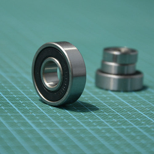 100pcs  high quality  MR128-2RS  MR128RS 8x12x3.5 rubber sealed  miniature deep groove  ball bearings 8*12*3.5 mm
