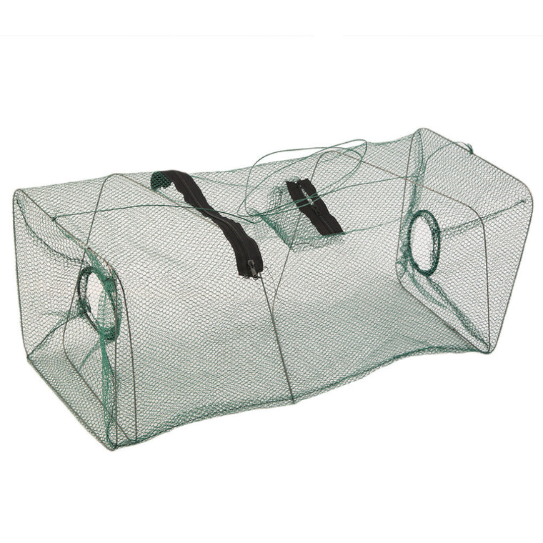 Foldable Crab Fish Crawdad Shrimp Minnow Fishing Bait Trap Cast Net Cage 40cm x 22cm x 22cm free shipping