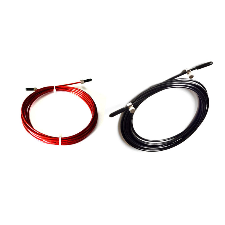 Replaceable Wire Cable,Black,Red PVC Coated Cable For Speed Jump Rope
