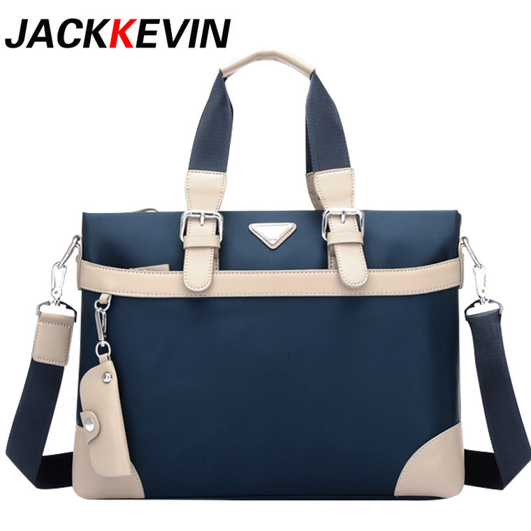 Men 's Business Package Waterproof Nylon Oxford Cross - Section Men Bag Handbags Leisure Canvas Handbags