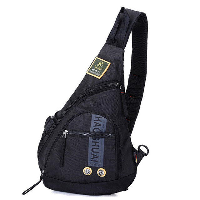 Sports & Entertainment High Quality Waterproof Oxford Men Single Shoulder Cross Body Bag Military Travel Sling Rucksack Chest Back Pack Messenger Bags Camping & Hiking