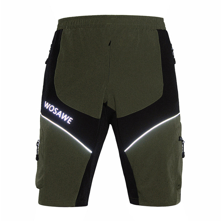 WOSAWE New MTB Shorts MTB DOWNHILL men's sports bike riding bicycle Short pants Leisure Cycling Shorts