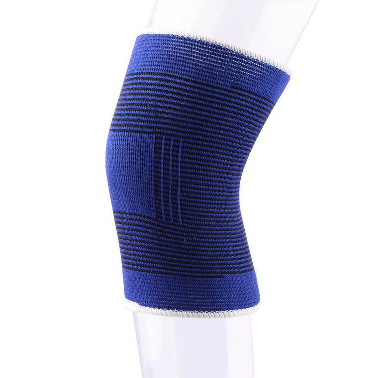 2 Pc Soft Elastic Breathable Support Brace Knee Protector Pad Sports Bandage Pad Free Shipping