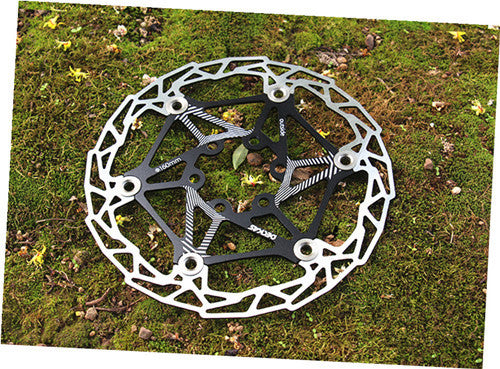 "1 PCS DH Bicycle Bicycle Brake Rotor High Float 160mm 6 ""  Performance over AVID G3 HS1 for BB5 BB7 Mountain Bike Free Shipping"