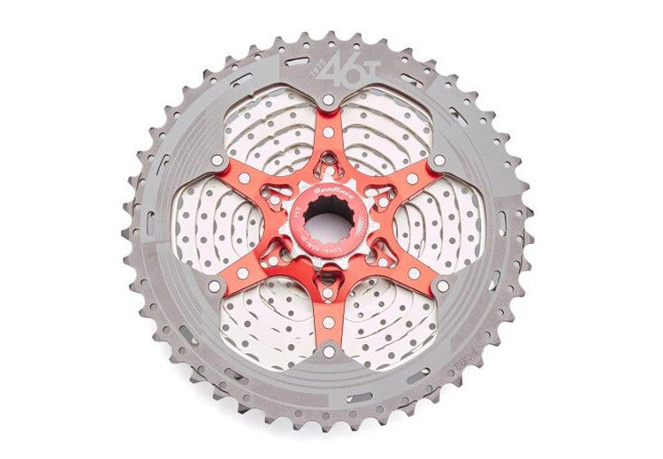 SunRace CSMX8 Bike Freewheel 11 Speed Wide Ratio bike bicycle mtb freewheel Mountain Bicycle Cassette 11-46T