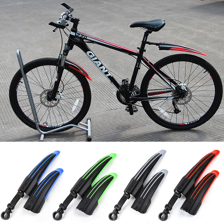 Hot MTB Bike Fenders,4 Colors Front Rear Bicycle Bike Mudguard Mountain Bike Mud Guard Tire Fenders