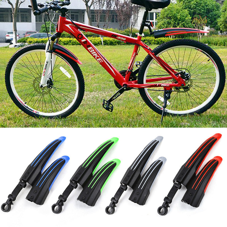 Hot MTB Bike Fenders,Front Rear Bicycle Bike Mudguard Mountain Bike Mud Guard Tire Fenders 4 Colors
