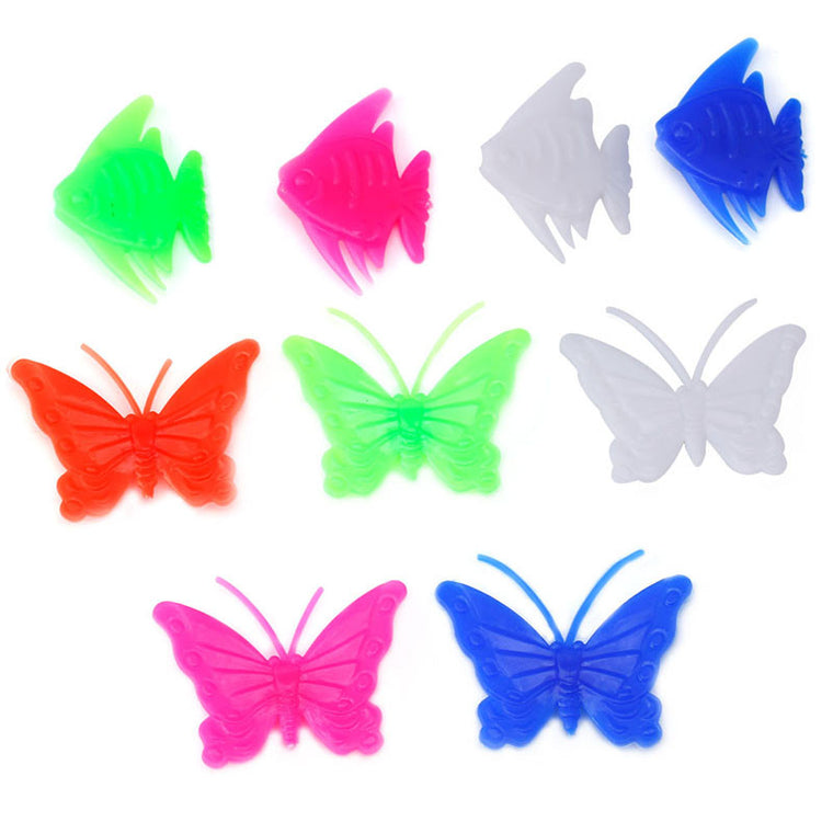 26 pcs Wheel Spoke Colorful Butterfly Fish Decoration Cycling Bicycle Bike