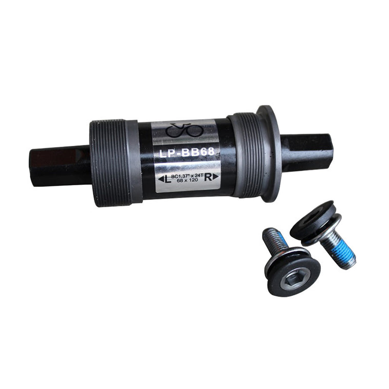 Mountain Bicycle Bottom 110.5 113 116 118 120 122.5 127.5mm Bracket Bike Bottom Bracket with 2 pcs Water Proof Screws