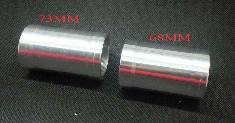 original OEM brand aluminum 68mm 73mm BB30 bicycle bottom bracket adaptor Transform Tube